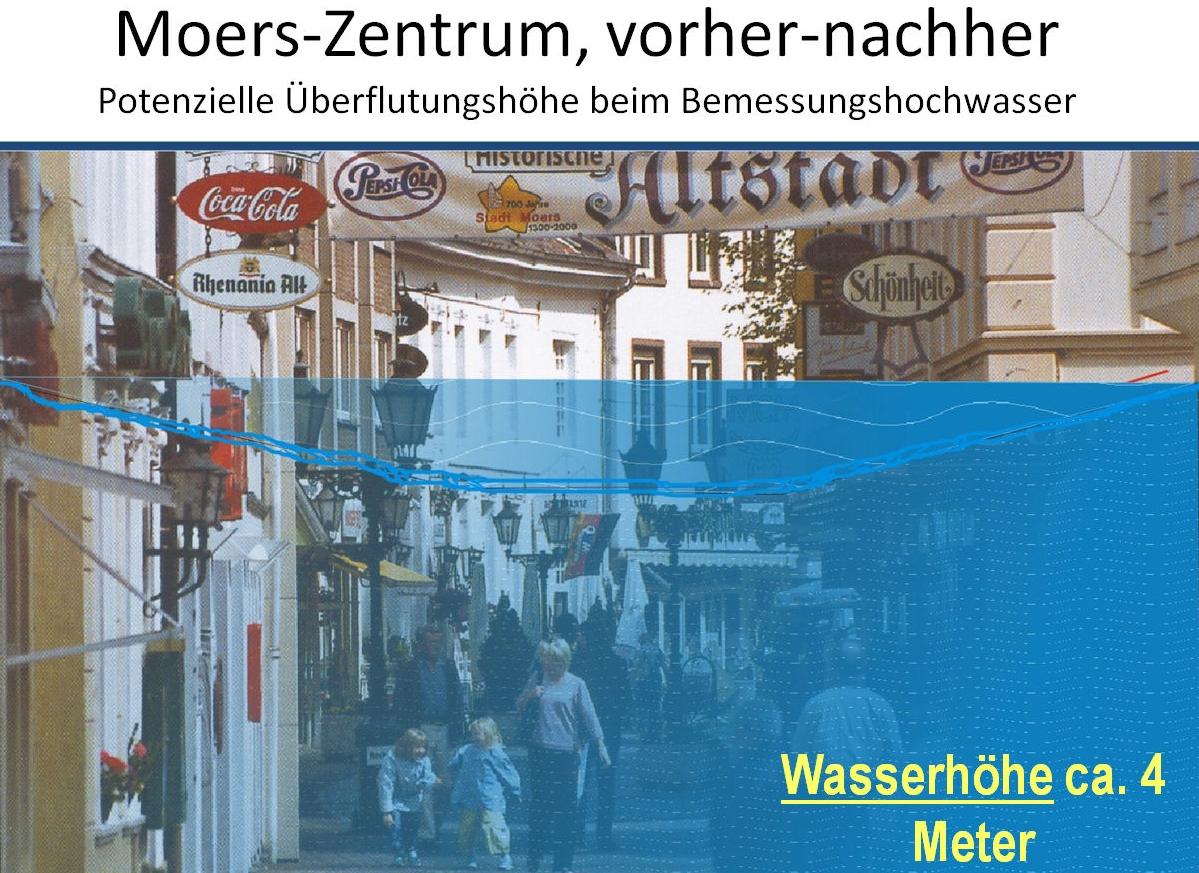 Land NRW veröffentlicht Hochwasserkarten